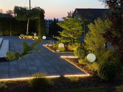 Mój pomysł na oświetlenie ogrodu. Zapraszam